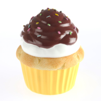 Kanca Ev Sarı Mini Kutu Cup Cake Çikolatalı