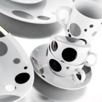 Kütahya Porselen Zeugma 12 Parça 463812 Desen Kahve Takımı