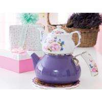 Biev Mira Emaye Porselen Çaydanlık Takımı