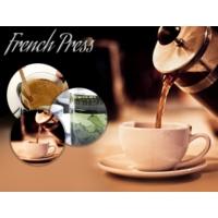 Toptancı Kapında French Press Süzgeçli Çay Ve Kahve Kupası (350 Ml)