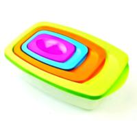 Toptancı Kapında Plastik Saklama Kabı 3 Adet