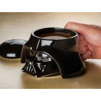 Toptancı Kapında Star Wars Darth Vader Head 3D Seramik Mug Kupa Bardak