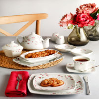Pierre Cardin Elfin Kahvaltı Seti 48 Parça Premıum Porselen Kahvaltı Seti