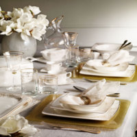 Pierre Cardin Jesse Gold 86 Parça Premium Bone China Yemek Takımı