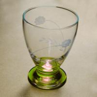 Başak 41011 Çın Çın 12 Adet (Yeşil Papatya) Su-Meşrubat Bardaği