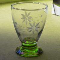 Başak 41011 Çın Çın 12 Adet (Yeşil Taç) Su-Meşrubat Bardaği