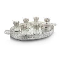 Pierre Cardin Mirenda Silver 39 Parça Çelik Çay Seti