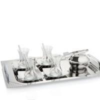 Pierre Cardin Estella Silver 40 Parça Çelik Çay Seti