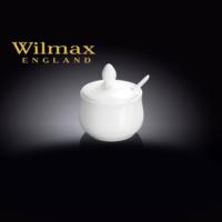 Wilmax Kaşıklı Mini Kavanoz/Hardallık/Ketçaplık, Çap:6,5Cm.