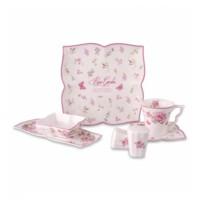 Karaca Rose Garden 32 Parça Porselen Kahvaltı Takımı