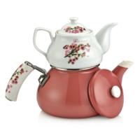 Schafer Teerose Porselen Çaydanlık 25894