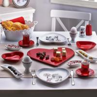 Keramika Yılın Aşkı 17 Parça Kahvaltı Takımı Seti