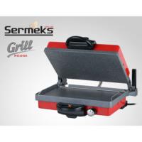 Sermeks Kırmızı Granit Turbo Grill, Barbekü, Lahmacun, Serme, Ekmek Makinesi