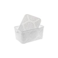 Modelüks Oya Desenli Çok Amaçlı Sepet 2,5lt. Beyaz