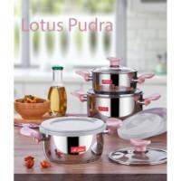 Aryıldız Lotus Eco 9 Parça Mini Tencere Seti