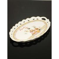 Kitchen Love Porselen Oval Tepsi