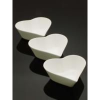 Kitchen Love Porselen 15Cm 3 Lü Kalp Tabak