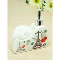 Kitchen Love Porselen Süngerli Sıvı Sabunluk