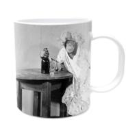 Fotografyabaskı Sabahlıkla Maymun Beyaz Kupa Bardak Baskı