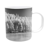 Fotografyabaskı Donmuş Göl Beyaz Kupa Bardak Baskı