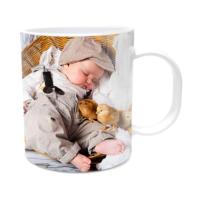 Fotografyabaskı Uyuyan Bebek Beyaz Kupa Bardak Baskı