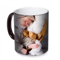 Fotografyabaskı Uyuyan Bebek Sihirli Siyah Kupa Bardak Baskı