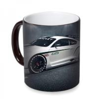 Fotografyabaskı Bentley Continental Sihirli Siyah Kupa Bardak Baskı