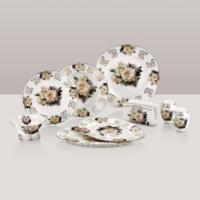 Güral Porselen G Plus 30 Parça Prestij Bone Yemek Seti