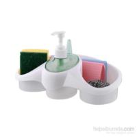 Vip Sıvı Sabunluk Sünger Hazneli