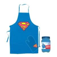 Sd Toys Dc Universe: Superman Apron And Oven Glove Önlük Seti