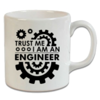 XukX Dizayn Trust Me, I'm An Engineer Kupa