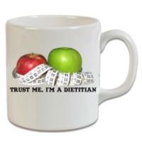 XukX Dizayn Trust Me I'm A Dietitian Diyetisyen Kupa