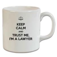 XukX Dizayn Keep Calm Avukat Kupa