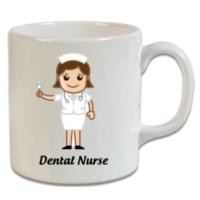 XukX Dizayn Diş Hekimi Hemşiresi Kupa