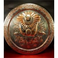 Sonay Bakırcılık Osmanlı Armalı Bakır Tepsi 60 Cm