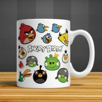 İf Dizayn Angry Birds Baskılı Kupa Bardak