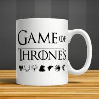 İf Dizayn Game Of Thrones Baskılı Kupa Bardak