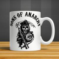 İf Dizayn Sons Of Anarchy Baskılı Kupa Bardak