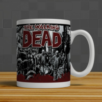İf Dizayn Walking Dead Baskılı Kupa Bardak