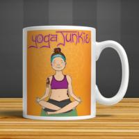 İf Dizayn Yoga Jungie Baskılı Kupa Bardak