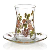 Goldmaster Florist Collection 12 Parça Heybeli Çay Takımı