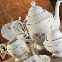 Kütahya Porselen 29 Parça 10131 Desen Çay Takımı