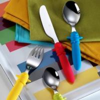 Kütahya Porselen 4 Parça Cocuk Çatal Kaşık Bıçak Seti