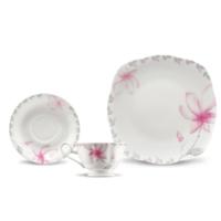 Kütahya Porselen Bone China 44 Parça 50105 Desen Kahvaltı Takımı