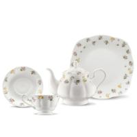 Kütahya Porselen Bone China 44 Parça 50107 Desen Kahvaltı Takımı