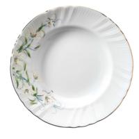 Kütahya Porselen Diana Çiçekli Yemek Tabağı