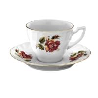 Kütahya Porselen Diana Güllü Kahve Takımı