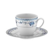 Kütahya Porselen Leonberg 8536 Desen Kahve Fincanı Tabaklı