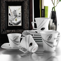 Kütahya Porselen Medusa 12 Parça 4489 Desen Çay Takımı