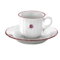 Kütahya Porselen Mina Pembe Çay Takımı
